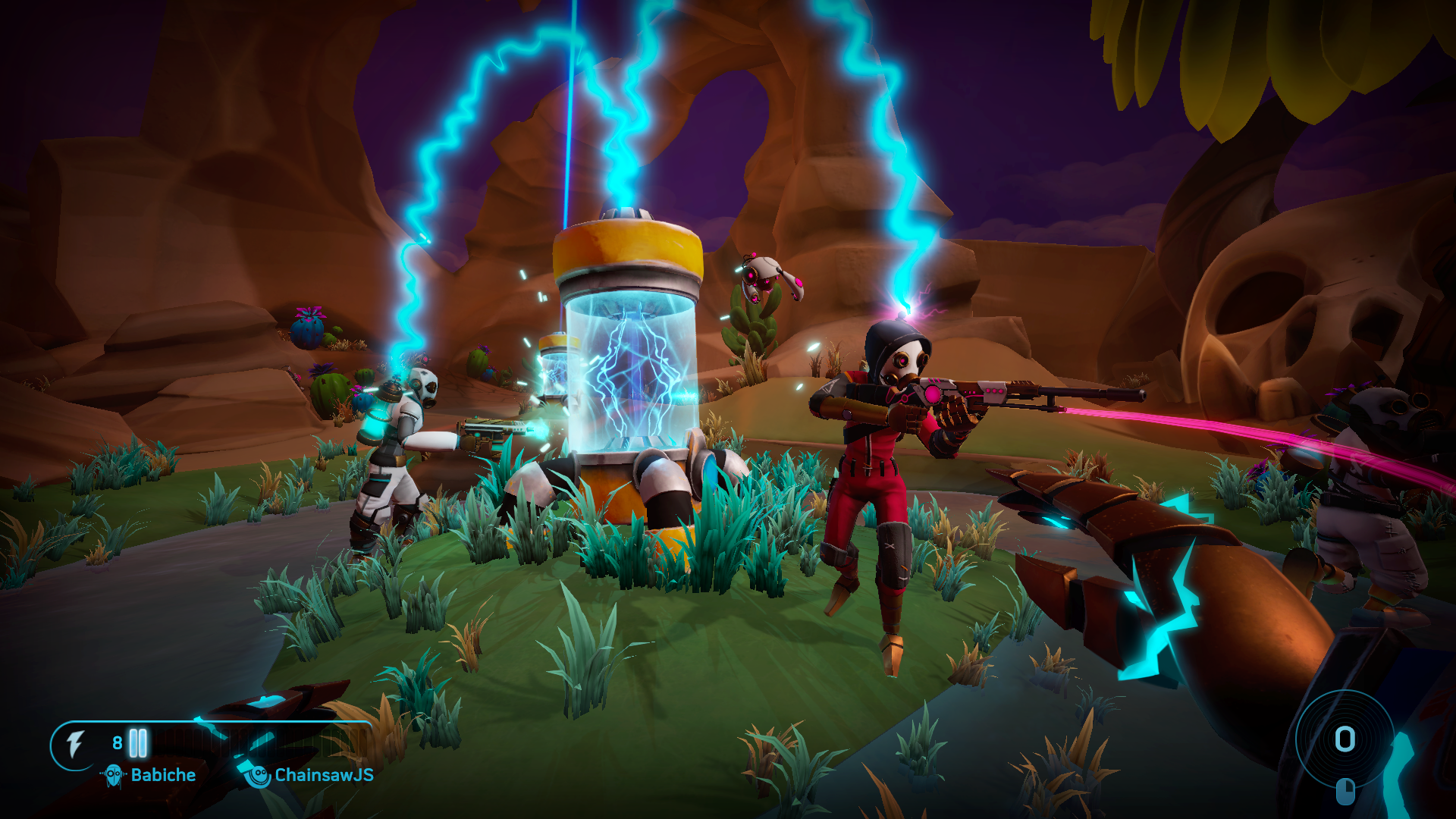Screenshot of Aftercharge