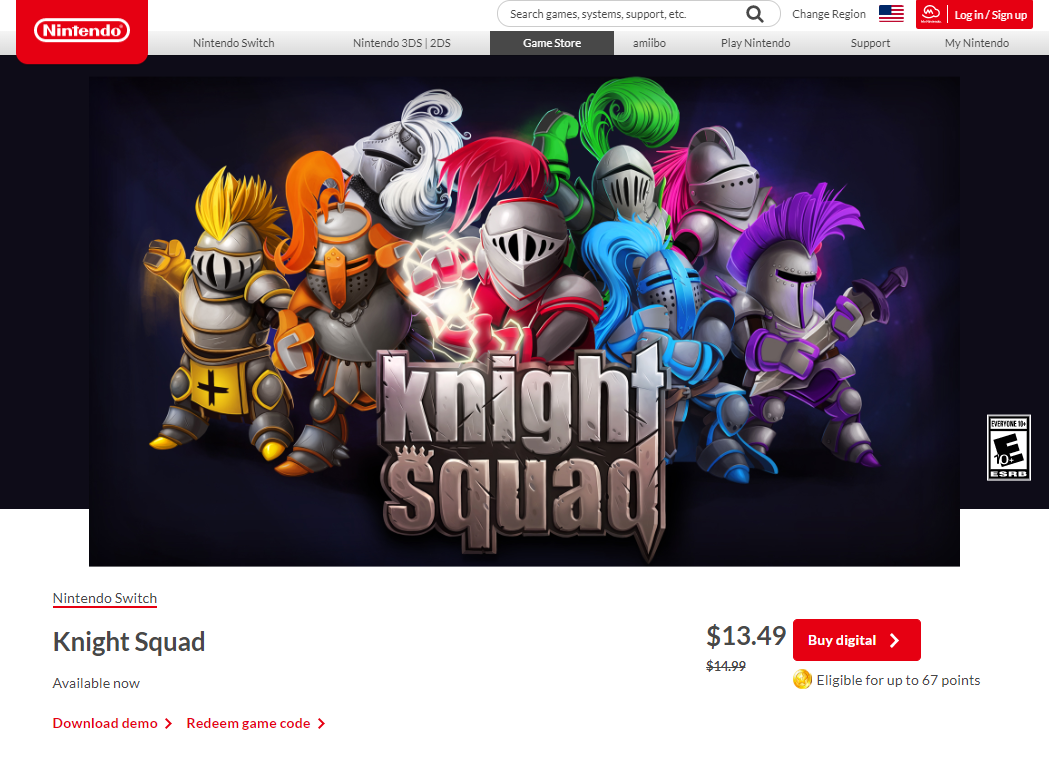 Knight Squad is on the Switch!