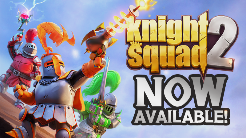 Knight Squad 2 is now launched worldwide!